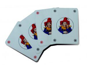 Carte da gioco, quattro jolly