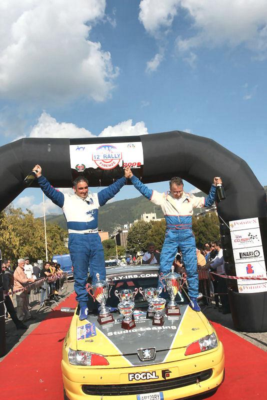 I vincitori del rally 2009
