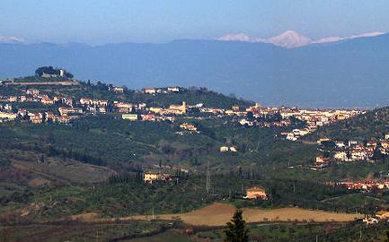 Vista del Montalbano