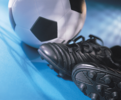 Pallone e scarpette