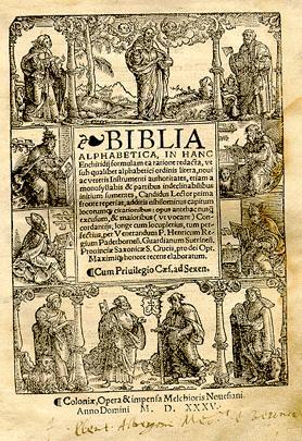 bibbia antica