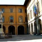 Uno scorcio del palazzo comunale di Prato