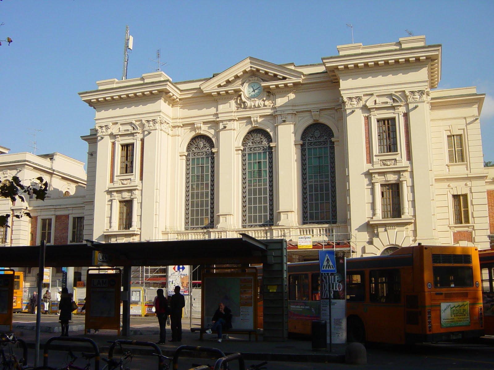 La stazione centrale di Prato