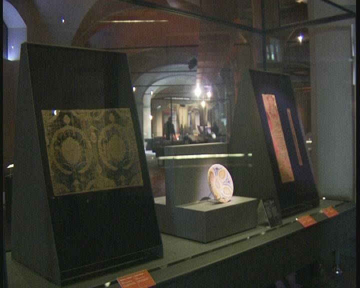 mostra al museo del tessuto