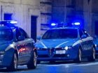 tre volanti polizia notte