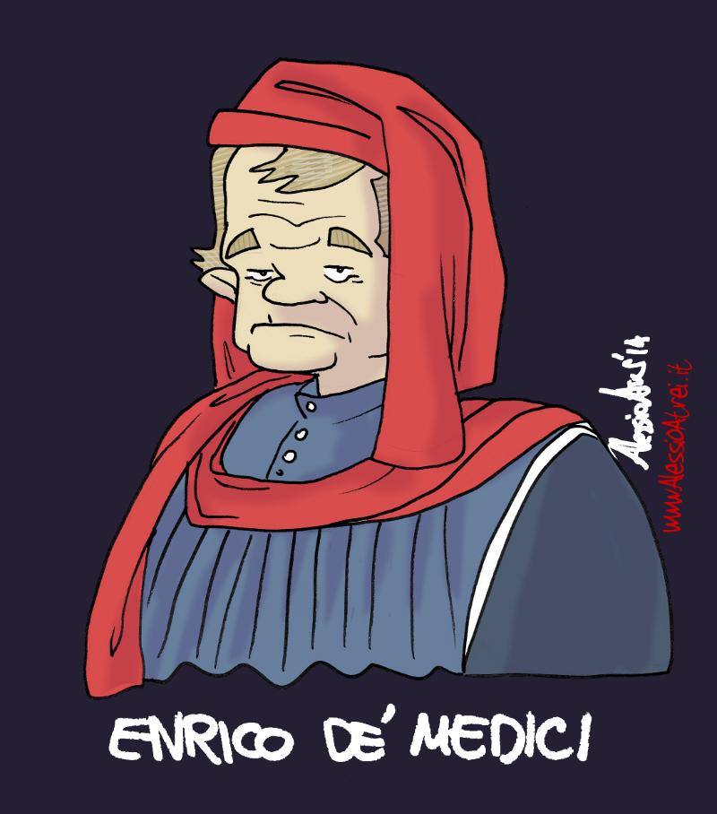 Enrico Rossi Toscana governatore presidente caricature vignette tvprato prato