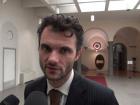 sindaco Matteo Biffoni in prefettura