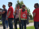 protesta lavoratori supermercati