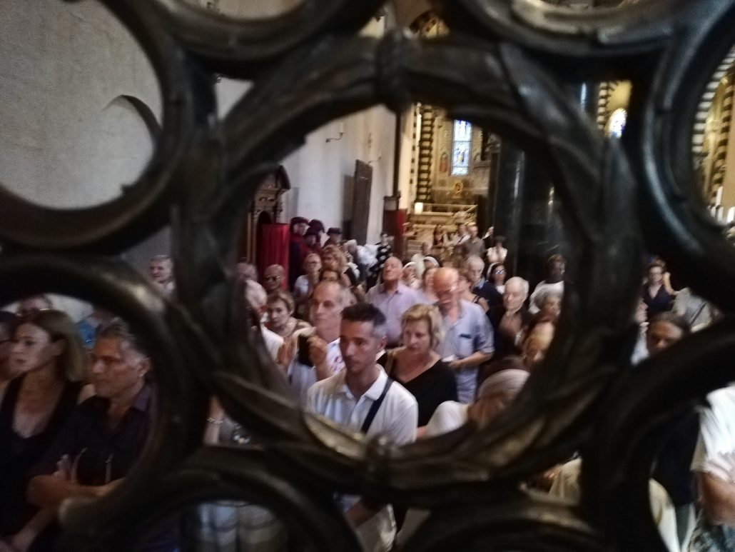 ostensione sacra cintola ferragosto 2019