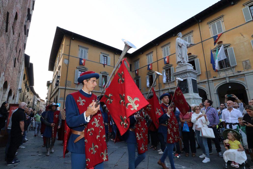 corteggio storico 2019 prime foto da piazza comune (3)