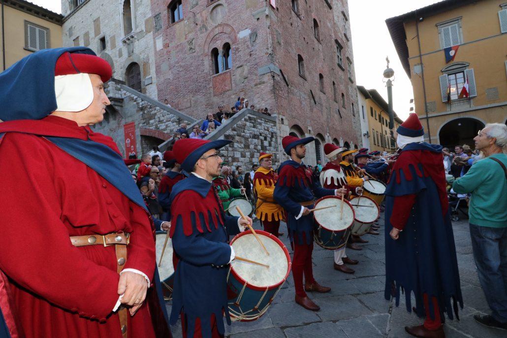 corteggio storico 2019 prime foto da piazza comune (5)