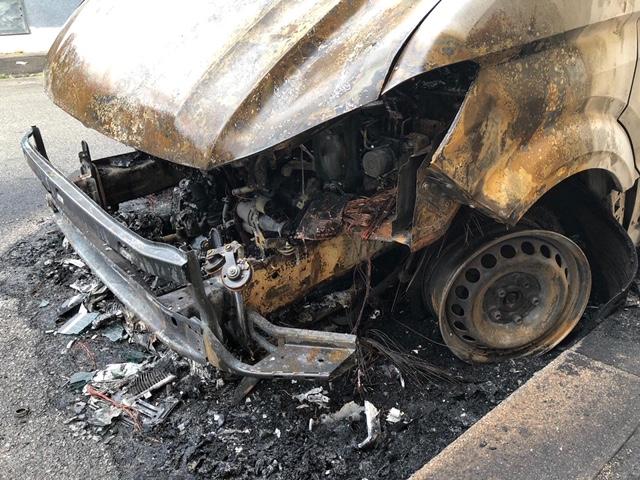 incendio via arezzo auto (3)