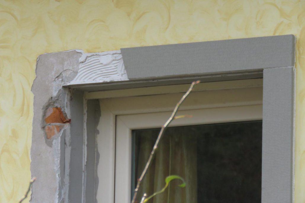 finestra danneggiata