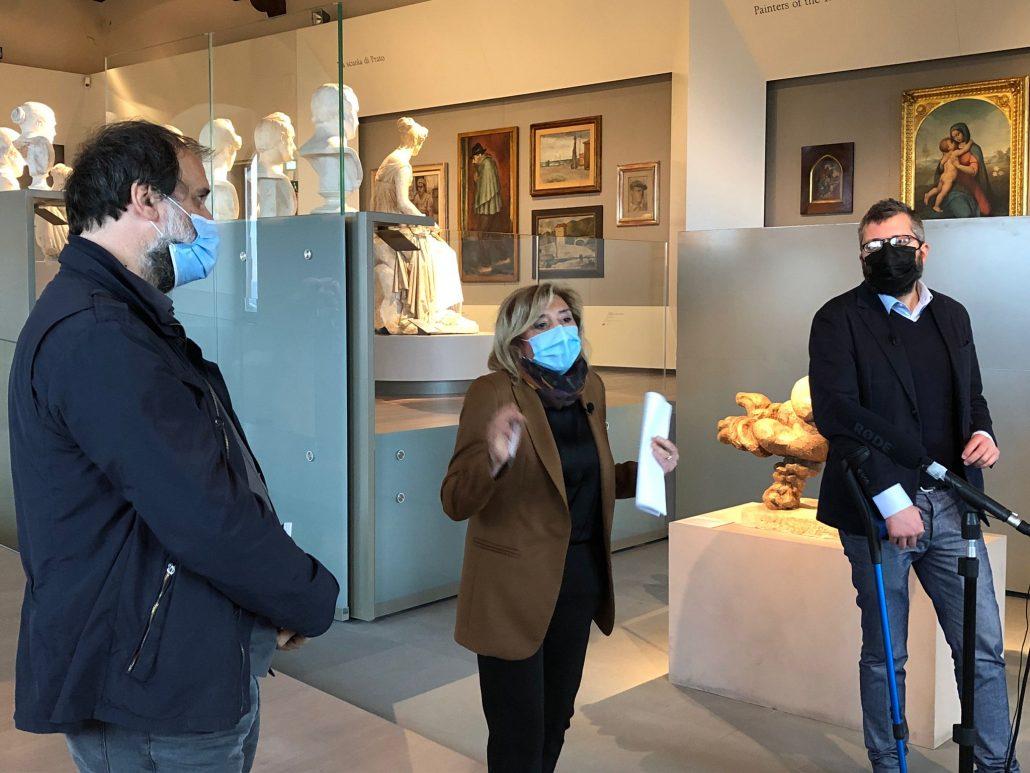 conferenza stampa riapertura museo palazzo pretorio