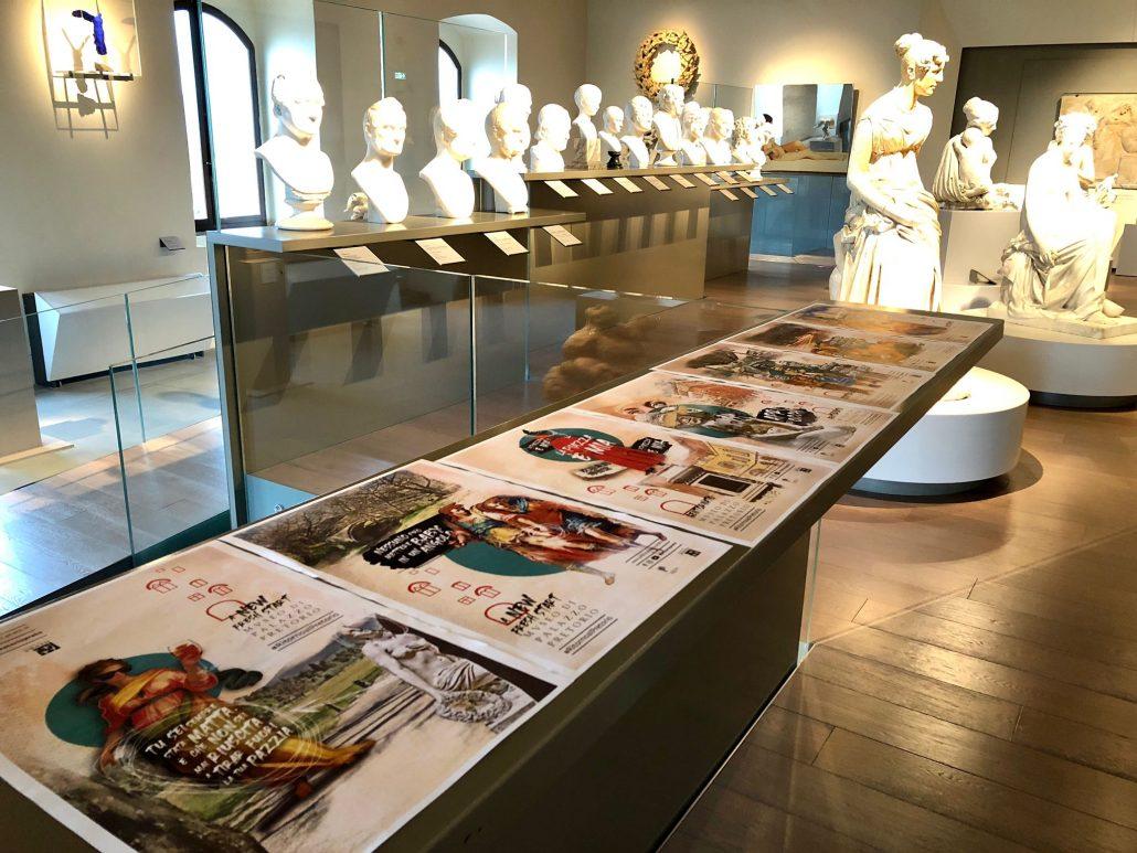 pretorio riapertura con 2 nuove opere da donazione Carlo Palli